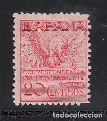 ESPAÑA, 1929 EDIFIL Nº 454 /*/, PEGASO, (Sellos - España - Alfonso XIII de 1.886 a 1.931 - Nuevos)