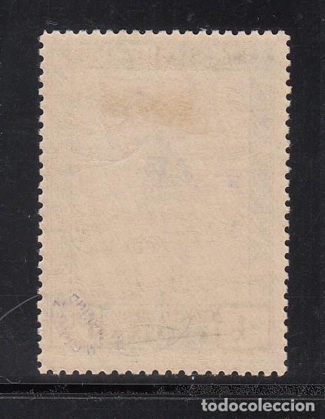 Sellos: ESPAÑA, 1930 EDIFIL Nº 528 cc /*/, Cambio de Color, azul grisaceo y violeta - Foto 2 - 222117117