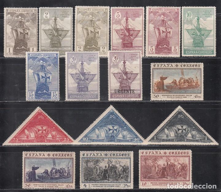 ESPAÑA, 1930 EDIFIL Nº 531 / 546 /*/ , DESCUBRIMIENTO DE AMÉRICA. (Sellos - España - Alfonso XIII de 1.886 a 1.931 - Nuevos)