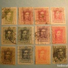 Sellos: ESPAÑA 1922-30 - ALFONSO XIII, TIPO VAQUER - EDIFIL 310 AL 321.. Lote 222120503