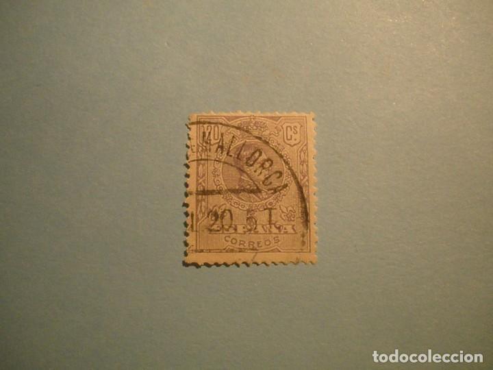 ESPAÑA 1909-1922 - ALFONSO XIII, TIPO MEDALLON - EDIFIL 273 - PALABRA MALLORCA. (Sellos - España - Alfonso XIII de 1.886 a 1.931 - Usados)