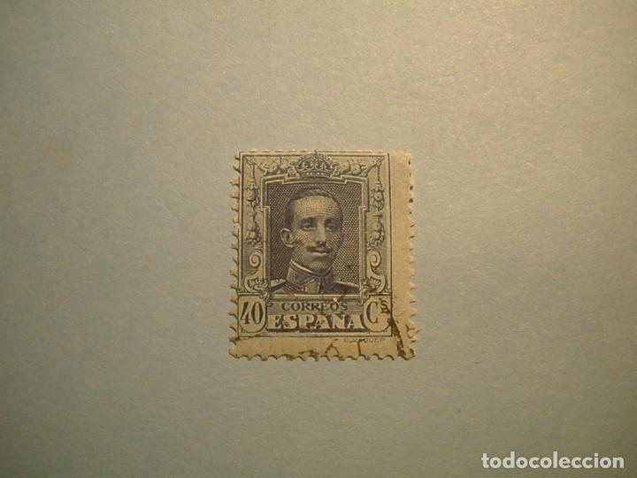 ESPAÑA 1922-30 - ALFONSO XIII, TIPO VAQUER - EDIFIL 319. (Sellos - España - Alfonso XIII de 1.886 a 1.931 - Usados)