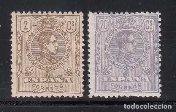 ESPAÑA,1920 EDIFIL Nº 289 / 290 /*/ ALFONSO XIII, TIPO MEDALLÓN. (Sellos - España - Alfonso XIII de 1.886 a 1.931 - Nuevos)