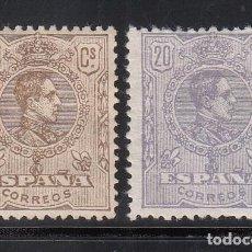 Sellos: ESPAÑA,1920 EDIFIL Nº 289 / 290 /*/ ALFONSO XIII, TIPO MEDALLÓN.. Lote 222223153