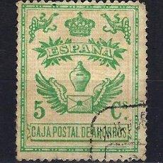 Sellos: 1918 ESPAÑA FISCALES CAJA POSTAL DE AHORROS EDIFIL USADO. Lote 222392646
