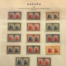 Sellos: EDIFIL 402 433 * SELLOS ESPAÑA 1928 NUEVOS CON GOMA ORIGINAL Y CENTRADO LUJO PRO CATACUMBAS. Lote 223379447