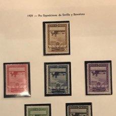 Sellos: EDIFIL 448 453 * SELLOS ESPAÑA 1929 SERIE COMPLETA NUEVOS CON GOMA ORIGINAL Y CENTRADO LUJO. Lote 223386673
