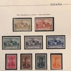 Sellos: EDIFIL 547 558 MNH SERIE COMPLETA SELLOS ESPAÑA AÑO 1930 EXCELENTE CENTRADO NUEVOS CON GOMA. Lote 223503535