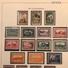 Sellos: EDIFIL 566 582 MNH SERIE COMPLETA AUTENTICA SELLOS ESPAÑA AÑO 1930 BIEN CENTRADOS NUEVOS CON GOMA. Lote 223509265