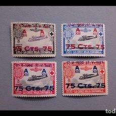 Sellos: ESPAÑA - 1927 - ALFONSO XIII - EDIFIL 388/391 - SERIE COMPLETA - MNH**/* - NUEVOS.. Lote 223961876