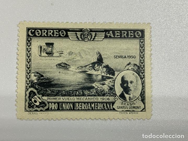 Sellos: LOTE SELLOS. PRO UNION IBEROAMERICANA. CORREO AEREO. 1930. 8 DE 9 SELLOS. EDIFIL 583-591. VER FOTOS - Foto 2 - 224040377