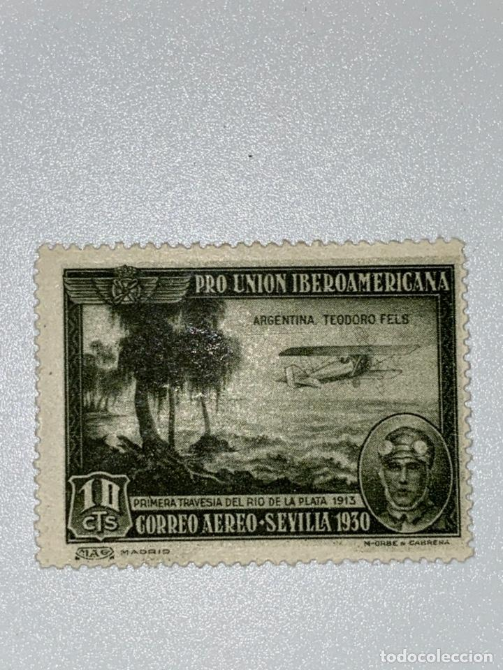 Sellos: LOTE SELLOS. PRO UNION IBEROAMERICANA. CORREO AEREO. 1930. 8 DE 9 SELLOS. EDIFIL 583-591. VER FOTOS - Foto 4 - 224040377