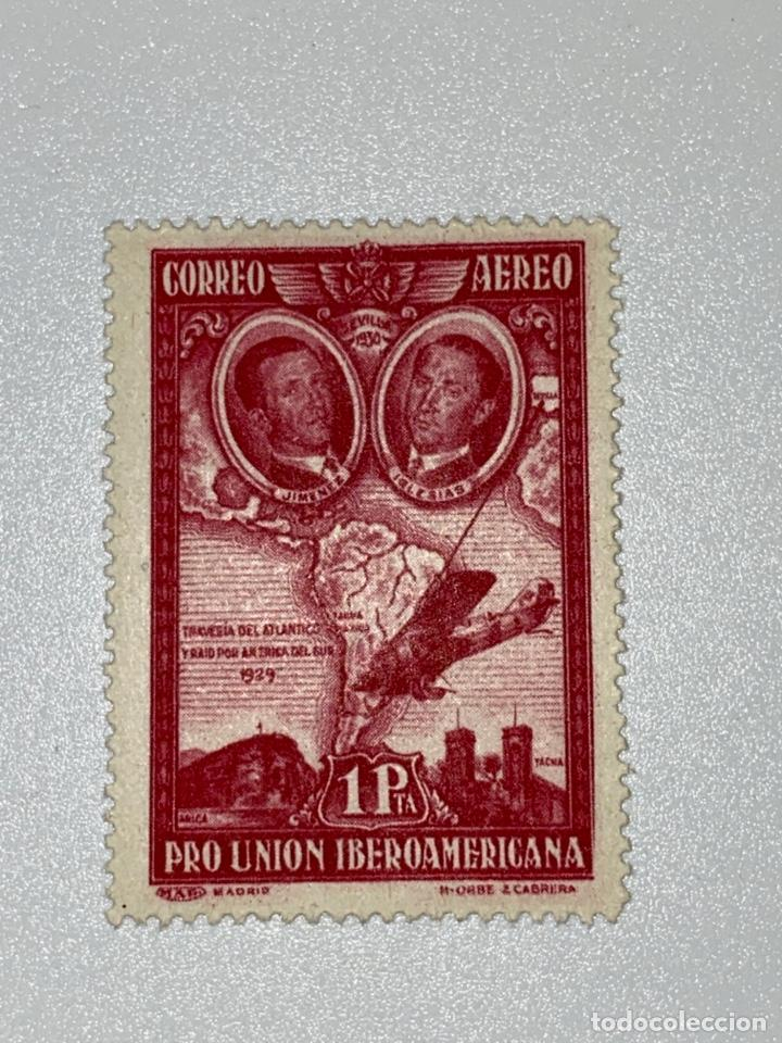 Sellos: LOTE SELLOS. PRO UNION IBEROAMERICANA. CORREO AEREO. 1930. 8 DE 9 SELLOS. EDIFIL 583-591. VER FOTOS - Foto 14 - 224040377