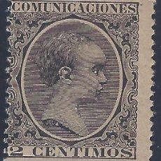 Sellos: EDIFIL 214 ALFONSO XIII. TIPO PELÓN. 1889-1901. LUJO. VALOR CATÁLOGO: 42 €. MNH **. Lote 224660080