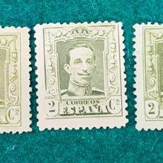 Selos: 3 UDS. Nº 310 Y 310A. ALFONSO XIII TIPO VAQUER. Lote 226003827