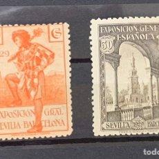 Selos: AÑO 1929. Nº 441 Y 443***. PRO EXPOSICIONES DE SEVILLA Y BARCELONA.. Lote 226015518