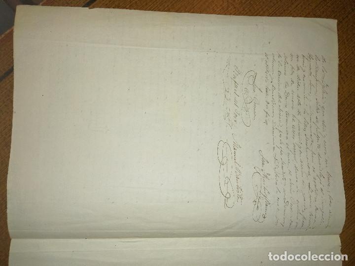 Sellos: VILLALBA DEL ALCOR, ACTO DE FORMA REAL DE ESTE CURATO-- AÑO 1889, VER FOTOS - Foto 2 - 227481780