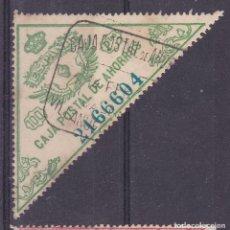 Selos: GG8-FISCALES CAJA POSTAL 100 PTAS USADO VILLANUEVA--- (VALENCIA) FORMATO GRANDE. Lote 230351630