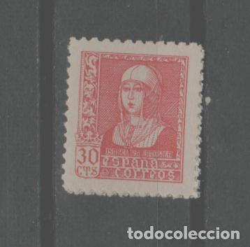 LOTE G-SELLO ESPAÑA NUEVO SIN CHARNELA AÑO 1936-39 MISABEL LA CATOLICA (Sellos - España - Alfonso XIII de 1.886 a 1.931 - Nuevos)