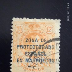 Sellos: REPUBLICA ESPAÑOLA 15 CTS, ALFONSO XIII 1915... Lote 233593880