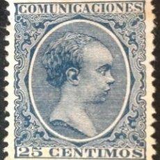Sellos: ESPAÑA SELLOS AÑO 1889-1901 ALFONSO XIII TIPO PELON NUEVO *. Lote 262328000