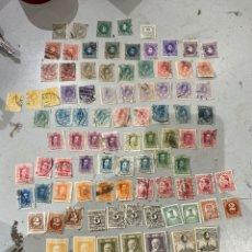 Sellos: LOTE COLECCION DE 93 SELLOS ESPAÑA ANTIGUOS. VER FOTOS. Lote 234003135