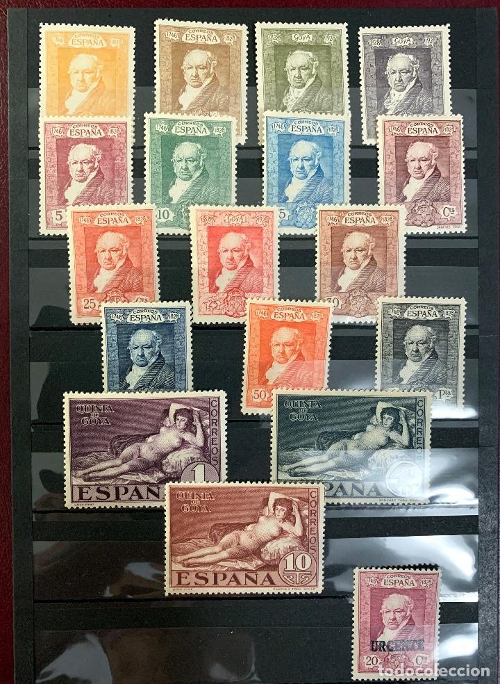1930. GOYA. EDIFIL 499-516. (Sellos - España - Alfonso XIII de 1.886 a 1.931 - Nuevos)