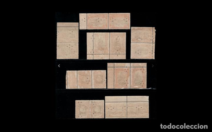 Sellos: ESPAÑA - 1916 - EDIFIL FR11/FR18 - SERIE COMPLETA - MNH** - NUEVOS - PAREJAS - BORDE DE HOJA - LUJO - Foto 2 - 235601230