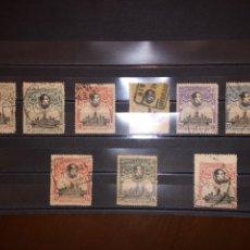 Sellos: ESPAÑA, 1920 EDIFIL Nº 298, 299, 300, 301, 302, 303, 304, 305, 307, CONGRESO DE LA U.P.U.. Lote 235734280
