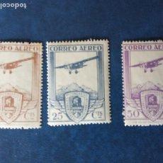 Sellos: 1930.CONGRESO INTERNACIONAL DE FERROCARRILES.5 ,25 Y 50 CTMS.MNH. Lote 236783610