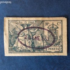 Sellos: SELLO 1903.SOBRECARGA CON LA FECHA 20 DE ENERO 1903 EN NEGRO.USADO.. Lote 236789480