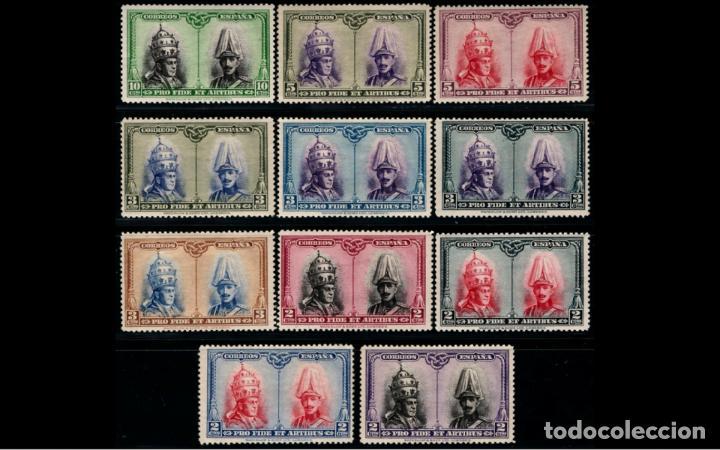 Sellos: ESPAÑA - 1928 - EDIFIL 402/433 - SERIE COMPLETA - MH* - NUEVOS - CENTRADOS - VALOR CATALOGO 125€ - Foto 2 - 237022280