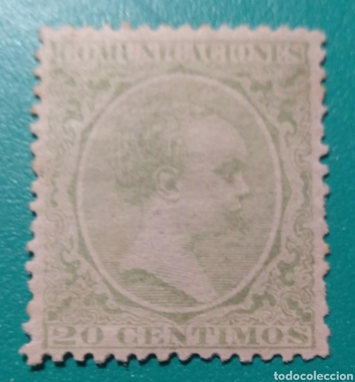 ESPAÑA. 1889-1899. EDIFIL 220*. ALFONSO XIII. (Sellos - España - Alfonso XIII de 1.886 a 1.931 - Nuevos)