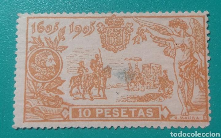 ESPAÑA. 1905. EDIFIL 266*. QUIJOTE. (Sellos - España - Alfonso XIII de 1.886 a 1.931 - Nuevos)