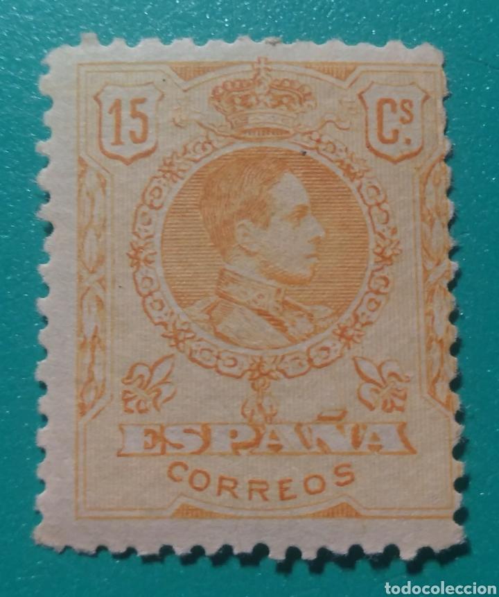 ESPAÑA. 1909-22. EDIFIL 271**. ALFONSO XIII. (Sellos - España - Alfonso XIII de 1.886 a 1.931 - Nuevos)