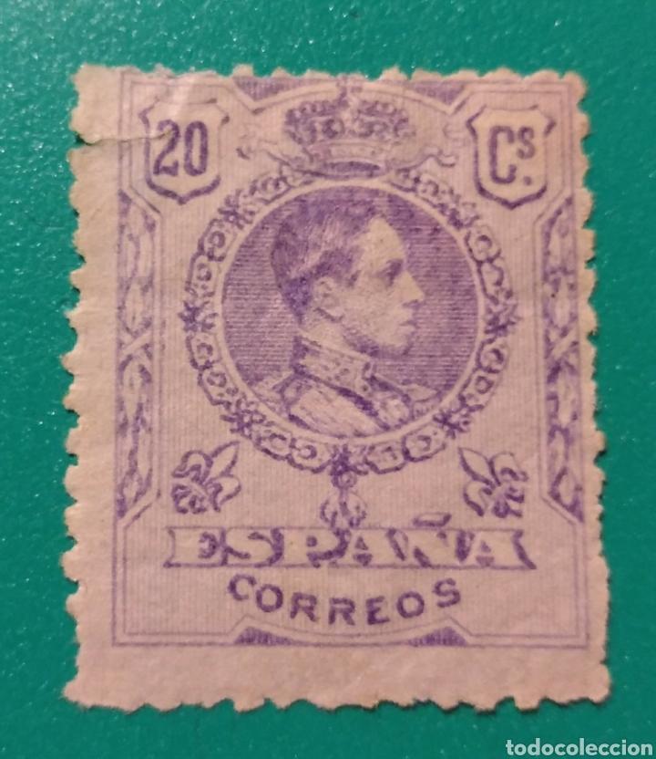 ESPAÑA. 1909-22. EDIFIL 273*. ALFONSO XIII. (Sellos - España - Alfonso XIII de 1.886 a 1.931 - Nuevos)