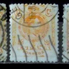 Sellos: 271, VEINTE SELLOS USADOS, FOTO REAL PARCIAL. ALFONSO XIII.. Lote 175270827