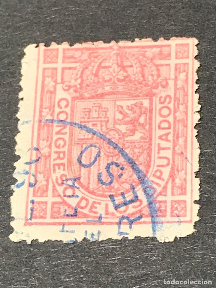 EDIFIL 230 ESCUDO ESPAÑA USADO (Sellos - España - Alfonso XIII de 1.886 a 1.931 - Usados)