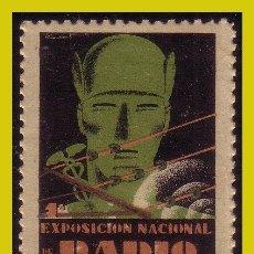 Timbres: VIÑETAS, 1931 EXPOSICIÓN NACIONAL DE RADIO, BARCELONA * *. Lote 242455905