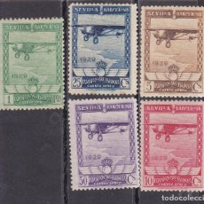 Timbres: SS14- EXPO SEVILLA BARCELONA AÉREOS EDIFIL 448/52 NUEVOS. Lote 243136115