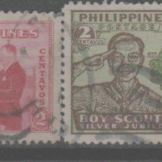 Sellos: LOTE R-SELLOS FILIPINAS. Lote 243224090