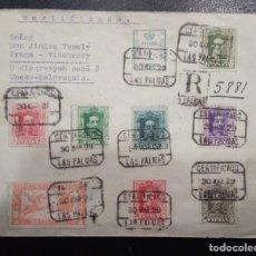 Sellos: 1929.- LAS PALMAS A CHECOSLOVAQUIA.. Lote 243997390