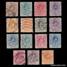 Sellos: 1909-22.ALFONSO XIII SERIE USADO.(10P.ROIG).EDIFIL.267-277. Lote 244516470