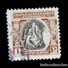 Sellos: 0149 ESPAÑA BENEFICENCIA COLEGIO DE HUERFANOS DE CORREOS EDIFIL Nº B11 USADO. Lote 244522335