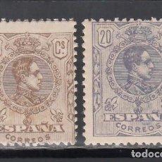 Sellos: ESPAÑA. 1920 EDIFIL Nº 289 / 290 /*/, ALFONSO XIII. TIPO MEDALLÓN.. Lote 244574495
