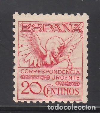 ESPAÑA, 1931 EDIFIL Nº 592A /*/, PEGASO. (Sellos - España - Alfonso XIII de 1.886 a 1.931 - Nuevos)