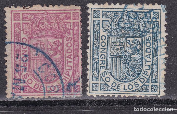 SS1- CORREO OFICIAL EDIFIL 230/31 USADOS . SIN DEFECTOS (Sellos - España - Alfonso XIII de 1.886 a 1.931 - Usados)