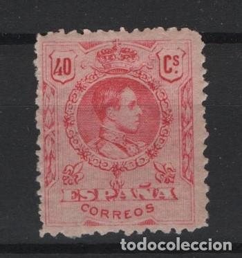 TV_003/ ESPAÑA 1909-22, EDIFIL 276 * , ALFONSO XIII, TIPO MEDALLON (Sellos - España - Alfonso XIII de 1.886 a 1.931 - Nuevos)