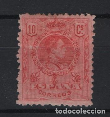 TV_003/ ESPAÑA 1909-22, EDIFIL 269 *, ALFONSO XIII. TIPO MEDALLON (Sellos - España - Alfonso XIII de 1.886 a 1.931 - Nuevos)