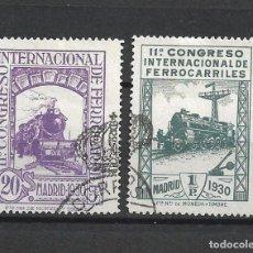 Sellos: ESPAÑA 1930 EDIFIL 474 + 479 USADOS - 1/6. Lote 245753145